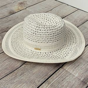 NWT BEBE White Women Hat